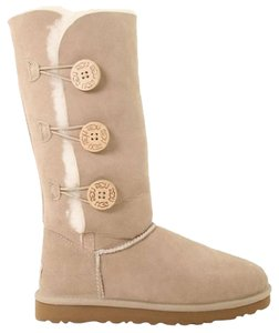 UGG Australia Bailey Button Sand Boots
