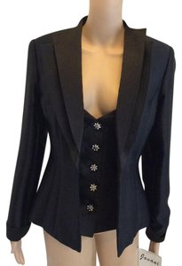 Jovani Jovani New York blazer with corset