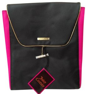 Juicy Couture Schoolbag Pink Black Backpack
