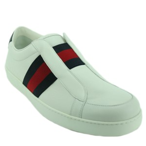 Gucci 322749 Leather White Athletic
