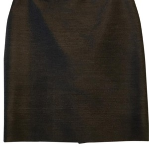 Jean-Paul Gaultier French Designer Pencil Lined Skirt Gray
