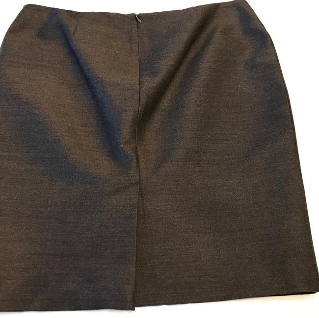 Jean-Paul Gaultier French Designer Pencil Lined Skirt Gray Image 2