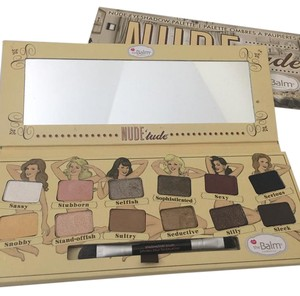 The Balm Nudetude eyeshadow palette by the Balm.