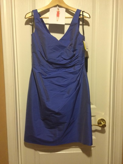 Alfred Sung Bluebell D644 Feminine Bridesmaid/Mob Dress Size 12 (L) Image 2