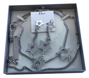 Dior Dior Star Necklaces and Star Clip On Earrings