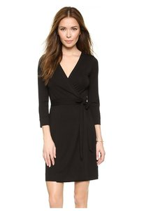 Diane von Furstenberg Wrap Lbd Dress