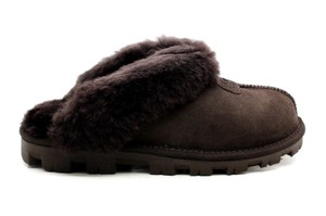 UGG Australia Coquette Slippers 5125 Chocolate Mules