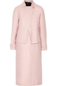 Tibi Trench Blush Unique Trench Coat