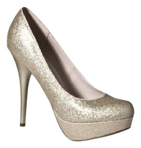 Mossimo Supply Co. Gold Pumps