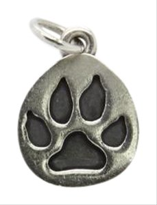James Avery James Avery Paw Print Sterling Silver Charm/Pendant