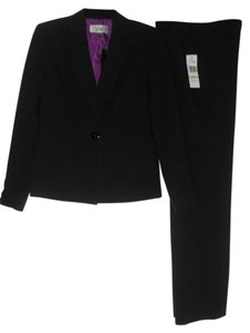 Le Suit Le Suit Monte Carlo New Black/Grape 2PC Pant Suit 4 $200