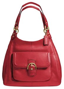 Coach Campbell Leather Hobo Bag