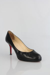Christian Louboutin Classic Leather Timeless Black Pumps