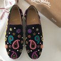 Christian Louboutin black pink green yellow gold purple blue red Athletic Image 4