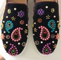 Christian Louboutin black pink green yellow gold purple blue red Athletic Image 5