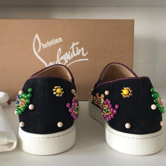 Christian Louboutin black pink green yellow gold purple blue red Athletic