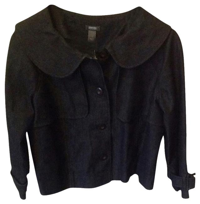 Preload https://item3.tradesy.com/images/kenneth-cole-black-womens-jeans-jacket-2054692-0-0.jpg?width=400&height=650