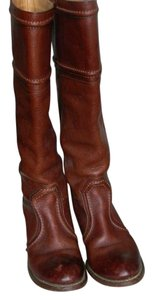 Frye Cognac Brown Boots