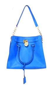Michael Kors Hamilton Large Tote in Blue