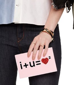 Kate Spade Wedding pink Clutch
