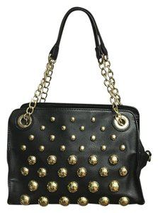 Betsey Johnson Edgy Leather Shoulder Bag