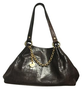 Perlina Crocodile Tote Shoulder Bag
