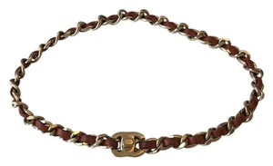 Chanel Turnlock Choker / Wrap Bracelet