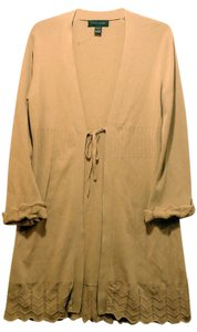 Cable & Gauge Wrap Color Size M Long Sleeves Cardigan