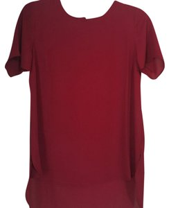 pale sky Top Maroon