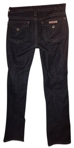 Hudson Jeans Denim Dark Wash Straight Leg Jeans-Dark Rinse