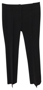 Ann Taylor Retail Like New Condition Modern (devin) Fit Fully-lined Tropical Wool Blend Trouser Pants Black