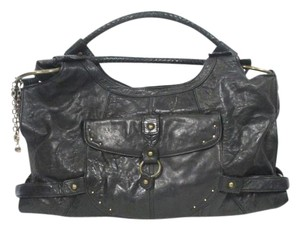 Hayden-Harnett Leather Classic Versatile Shoulder Bag