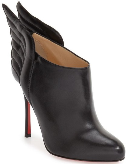Christian Louboutin Ankle Mercura Wing Black Boots Image 10