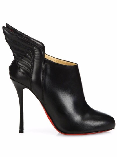 Christian Louboutin Ankle Mercura Wing Black Boots Image 9