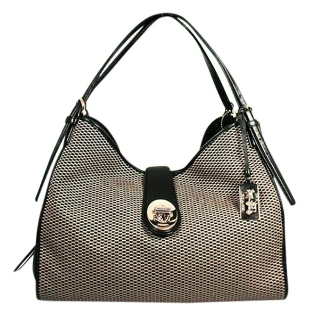 Item - Carlyle Madison Leather and Jacquard Satchel