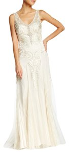 Sue Wong Embroidered Gown Dress