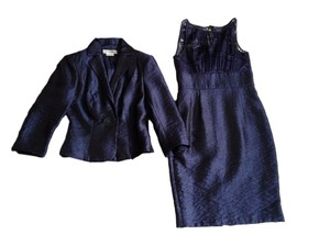 Kay Unger Day To Night Blue Size 4 Dress