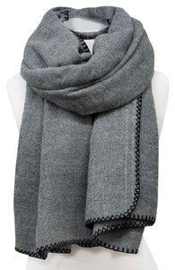 Other Classic Large Oversize Gray Winter Scarf Wrap