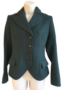 Jill Stuart Jill Stuart Forest Green Suit Jacket
