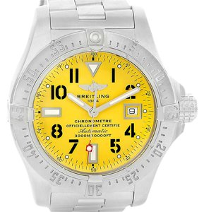 Breitling Breitling Aeromarine Avenger Seawolf Yellow Dial Mens Watch A17330