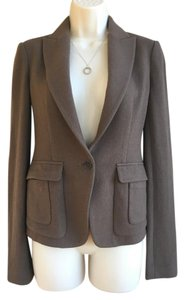 Iisli Lisli 100% Wool Camel Suit Jacket