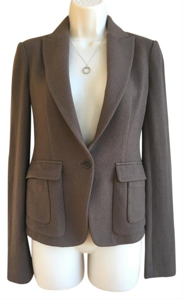 Camel Wool Jacket Pant Suit