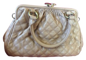 Marc Jacobs stam beige Leather Shoulder Bag