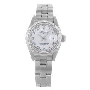 Rolex Rolex Date 69190 Stainless Steel Automatic Ladies Watch (15295)