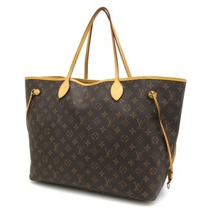 Louis Vuitton Neverfull Neverfull Neverfull Gm Neverfull Monogram Monogram Gm Tote in Brown