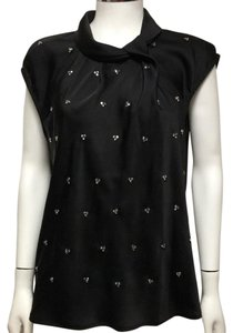 Michael Kors Top Black with Crystal beading