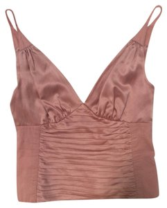 Catherine Malandrino Silk Top Light Pink