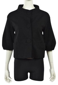 Vince Womens Basic Black Jacket