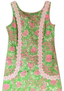Lilly Pulitzer short dress Cabana Pink on Tradesy