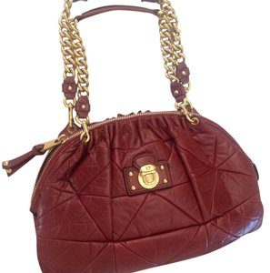 Marc Jacobs Satchel in Burgandy